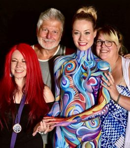 World Bodypainting Festival 2017 Livingbrush Bodypainting Five Time World Champion Bodypainting Artists